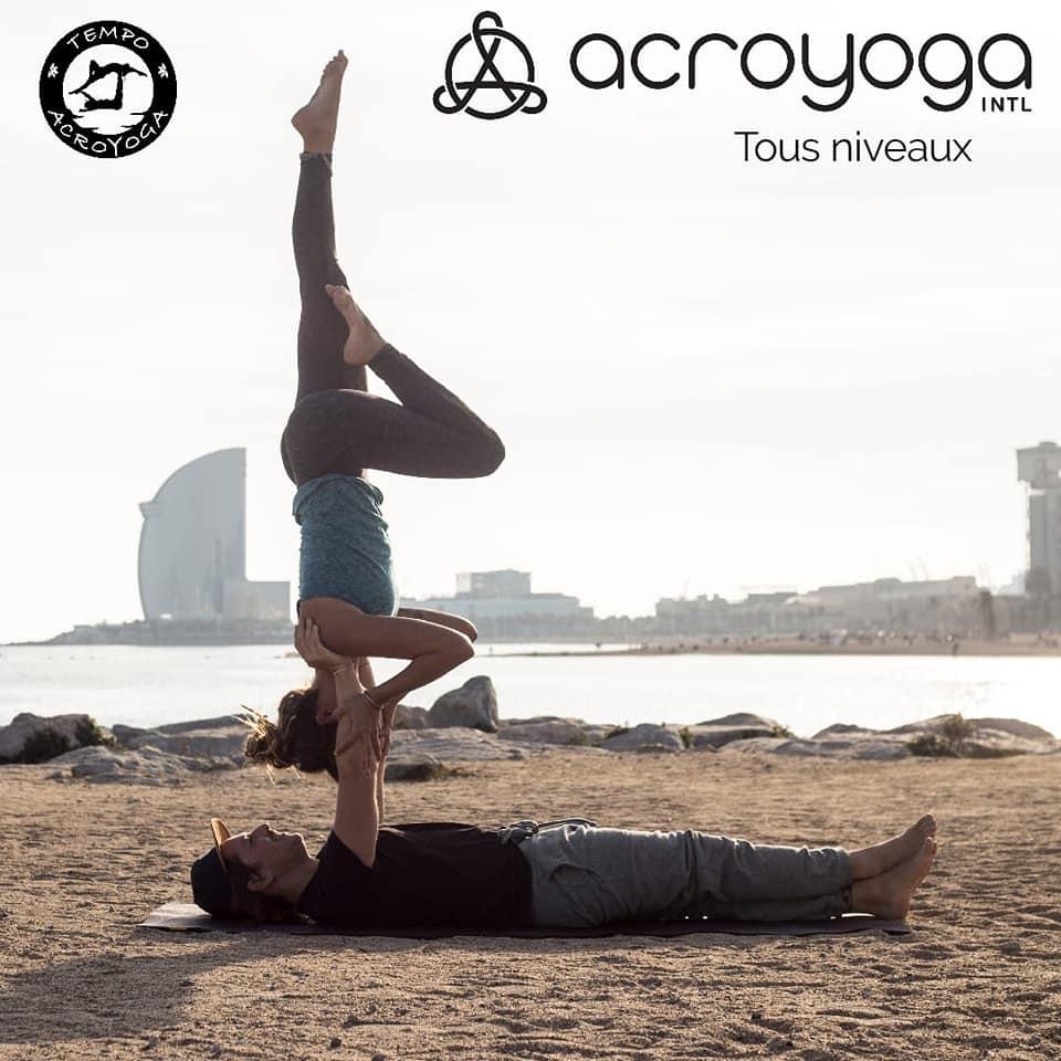 Cours Acro Yoga Pur Fitness Capbreton