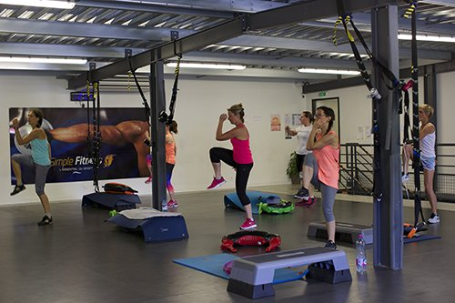 Cours de Cardio step Pur Fitness Capbreton