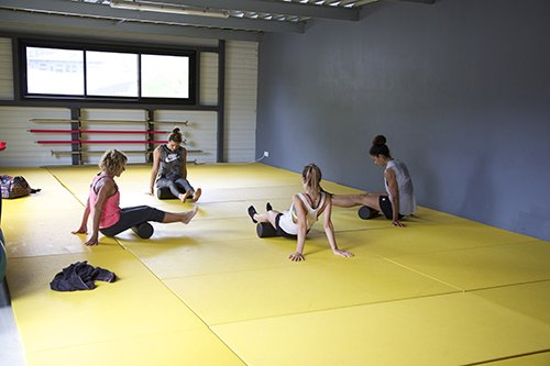 Cours collectif Foam ball Pur Fitness Capbreton