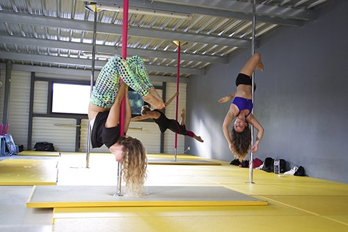 Cours de Pole dance Pur Fitness Capbreton
