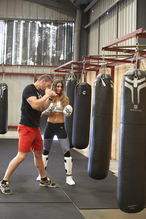 Cours de Sparring boxing Pur Fitness Capbreton