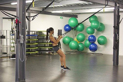 Cours de TRX Pur Fitness Capbreton