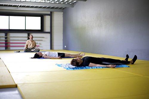 Cours collectif de Yoga Pur Fitness Capbreton